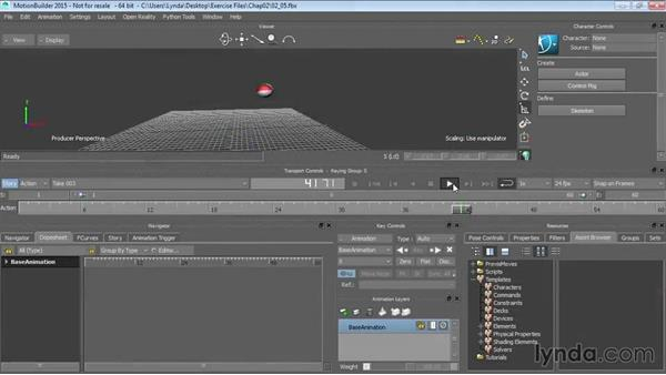 Welcome: Up and Running with MotionBuilder
