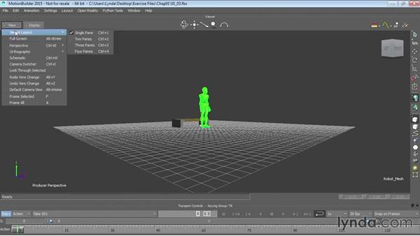 Navigation in MotionBuilder: Up and Running with MotionBuilder