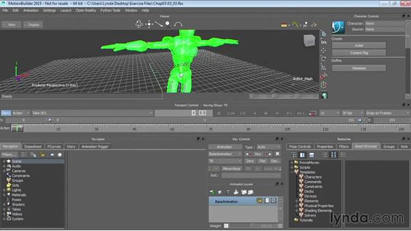 Characterizing 3ds Max biped rigs: Up and Running with MotionBuilder