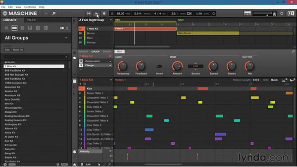 Loading modules, effects, and external plugins from the software: Up and Running with Maschine 2