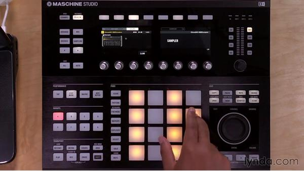 Recording patterns with the Step Sequencer: Up and Running with Maschine 2