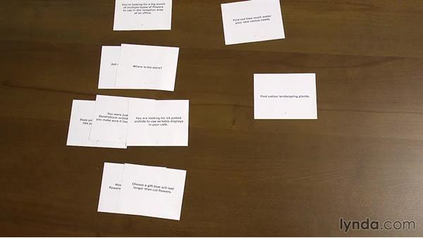 Card-sorting exercise: Mapping the Modern Web Design Process