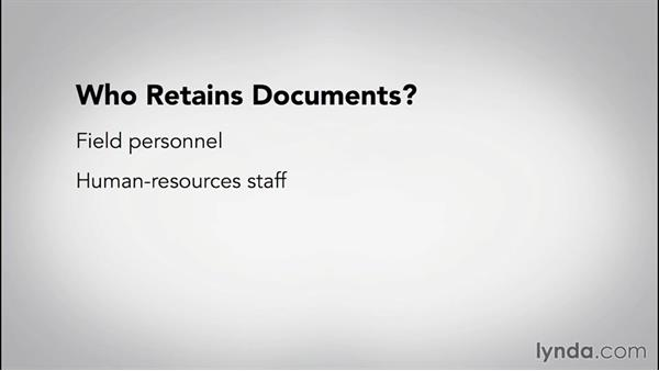 Who is affected by a document-retention policy?: The Fundamentals of Document Retention and Data Management