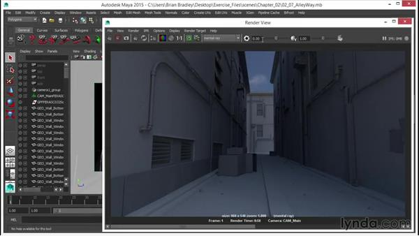 Welcome: Up and Running with mental ray in Maya