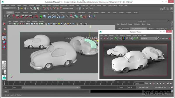 mental ray Interactive Photorealistic Rendering (IPR): Up and Running with mental ray in Maya
