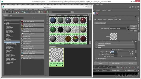 mia: Reflective (Metals): Up and Running with mental ray in Maya