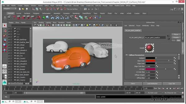 Getting to grips with the car paint phen: Part two: Up and Running with mental ray in Maya