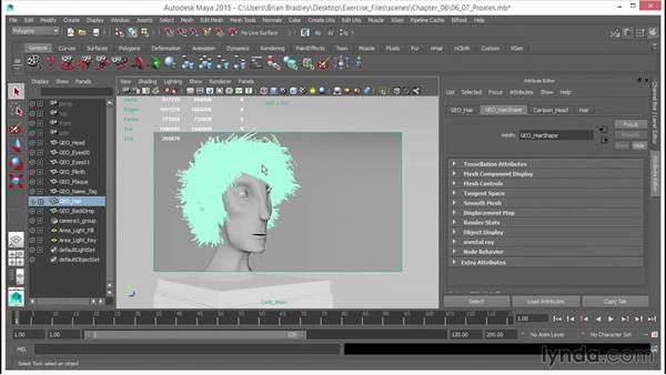 Proxies: Up and Running with mental ray in Maya