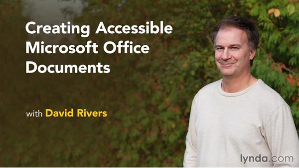 Next steps: Creating Accessible Microsoft Office Documents
