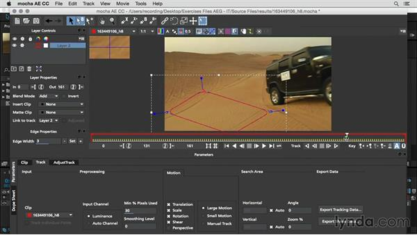 Planner tracking using mocha AE: After Effects Guru: Integrating Type into Video