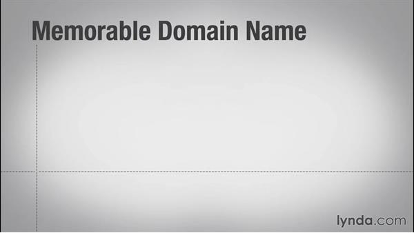 Choosing a domain name: Online Marketing Fundamentals