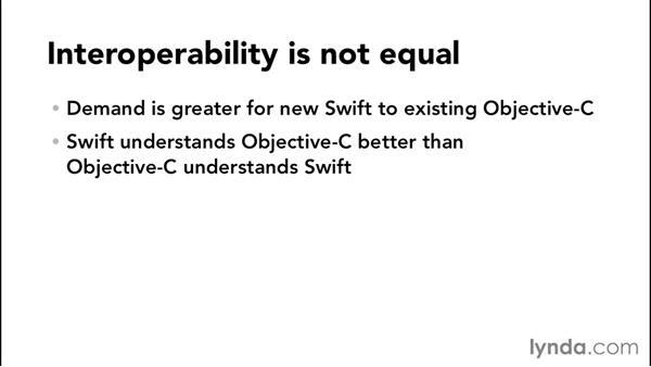 Swift and Objective-C interoperability: Comparing Swift and Objective-C