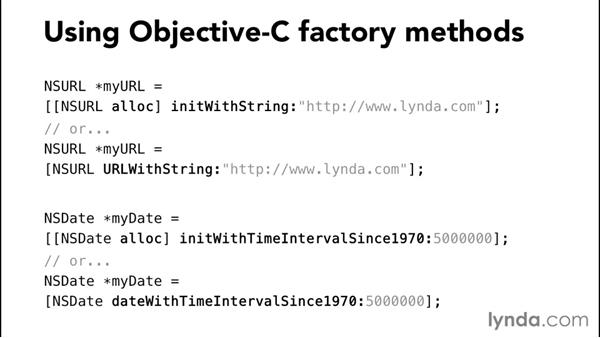 Mapping factory methods: Comparing Swift and Objective-C