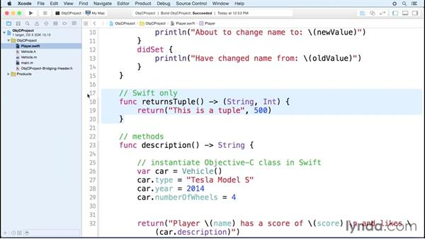 Limitations of language interoperability: Comparing Swift and Objective-C