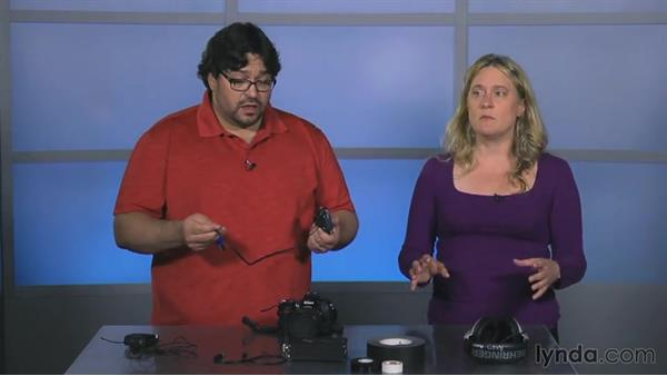 Attaching the receiver: Video Gear Weekly