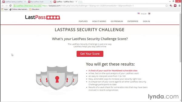 Auditing your security with Sentry and Security Challenge: LastPass Password Management Fundamentals