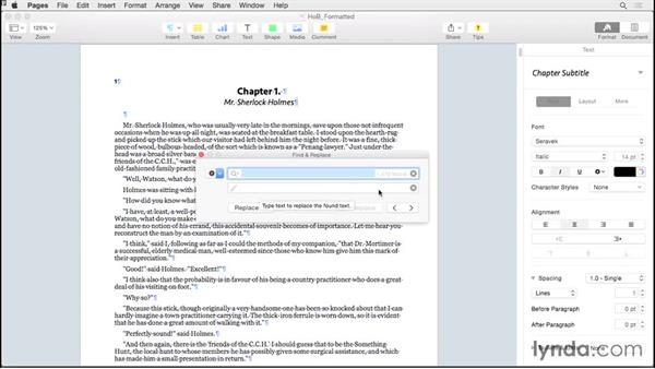 Showing invisibles: Creating EPUBs from a Pages Document