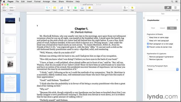 Footnotes and endnotes: Creating EPUBs from a Pages Document