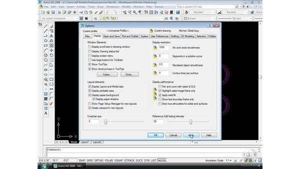 Essential settings: AutoCAD 2008 Essential Training