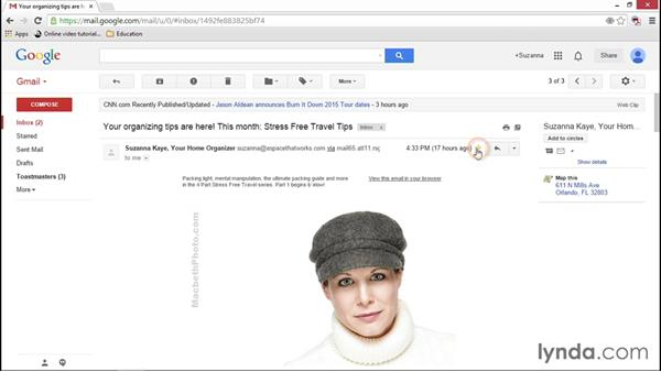 Flagging emails in Gmail: Going Paperless: Start to Finish