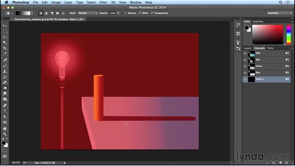 Using an alpha channel for an effect: Artistic Concepts with Bert Monroy: Volume 2