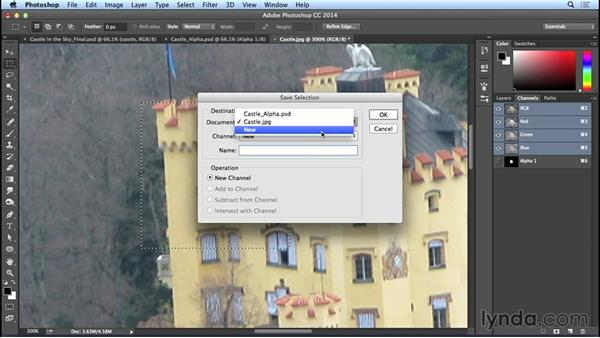 Using alpha channels in multiple documents: Artistic Concepts with Bert Monroy: Volume 2