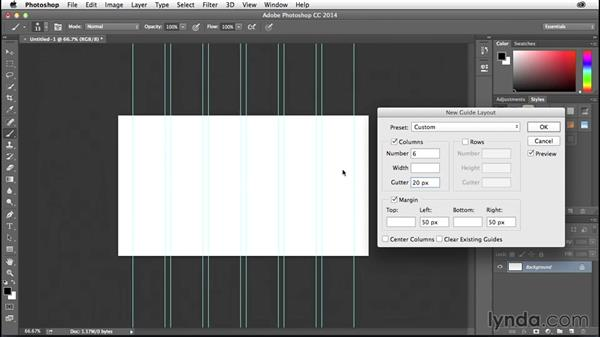 How to use Photoshop's new Guide Layouts: Creative Quick Tips