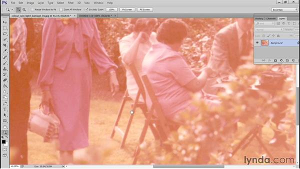 Evaluating the photo: Photo Restoration Techniques: Color Casts and Fading
