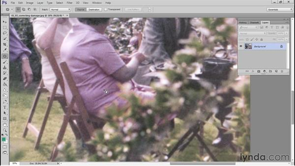 Fixing the color cast, sharpening, and reviewing final steps: Photo Restoration Techniques: Color Casts and Fading