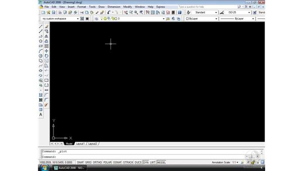 Drafting with metric units: AutoCAD 2008 Essential Training