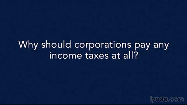 How large are corporate income taxes?: Income Tax Fundamentals