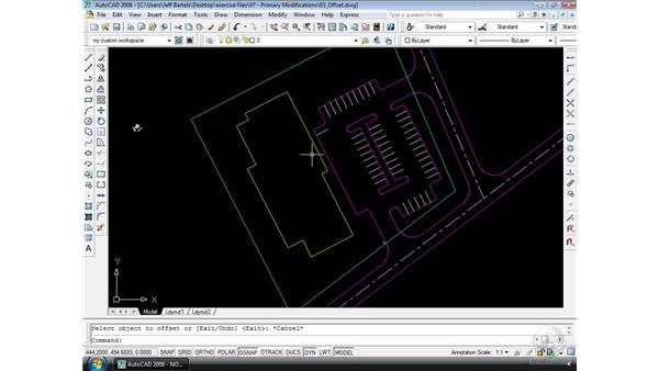 Offset: AutoCAD 2008 Essential Training