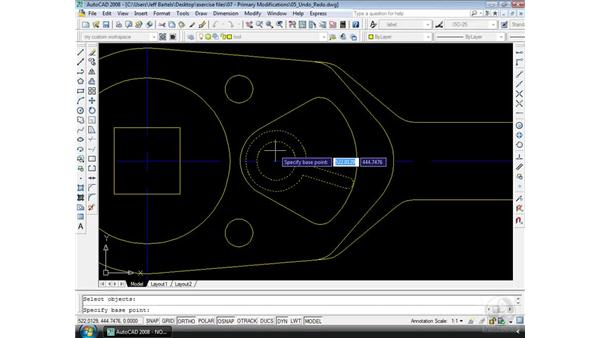 Undo and Redo: AutoCAD 2008 Essential Training
