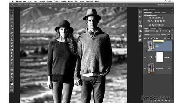 Adding a subtle snap to a portrait: Black-and-White Project: Using High-Dynamic Range (HDR) Toning for an Edgy Look