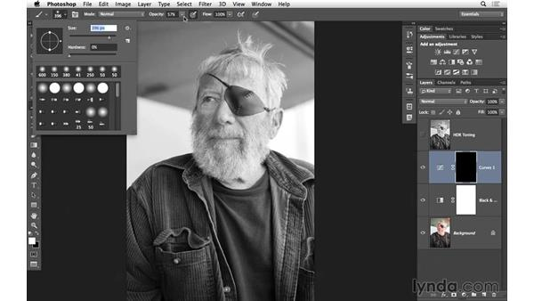 Creating a gritty look for an old sailor: Black-and-White Project: Using High-Dynamic Range (HDR) Toning for an Edgy Look