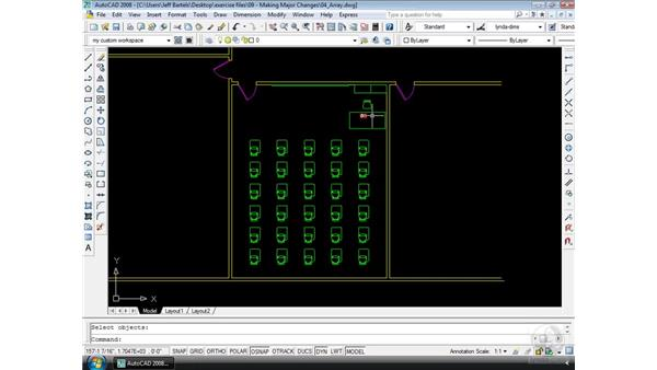 Array: AutoCAD 2008 Essential Training
