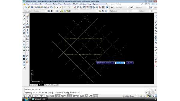 Stretch: AutoCAD 2008 Essential Training