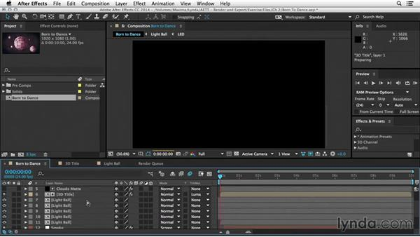 The Cache Work Area in Background feature: After Effects Tips and Techniques: Rendering and Exporting
