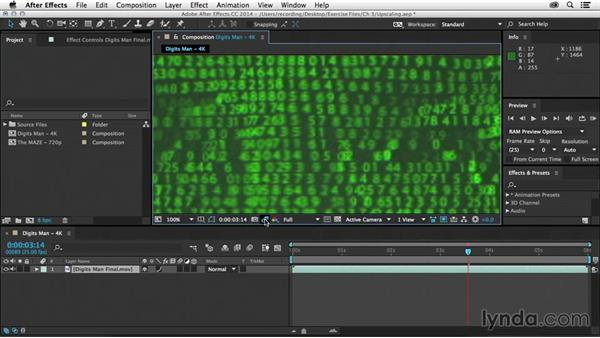 Upscaling footage: After Effects Tips and Techniques: Rendering and Exporting