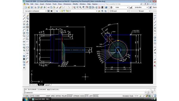 Layers: AutoCAD 2008 Essential Training