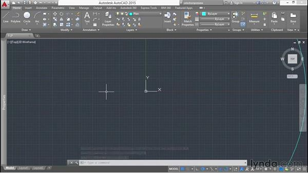 Creating a 2D layout: Modeling a Staircase with AutoCAD