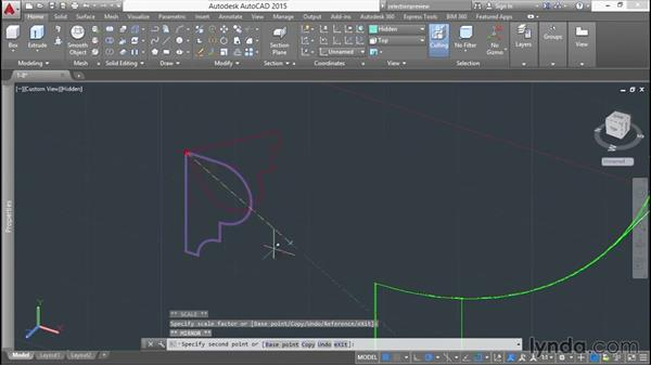Working with 2D blocks: Modeling a Staircase with AutoCAD