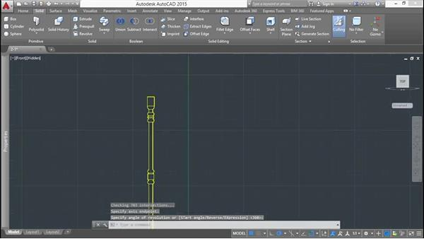 Using the Revolve tool: Modeling a Staircase with AutoCAD