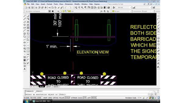 Editing: AutoCAD 2008 Essential Training
