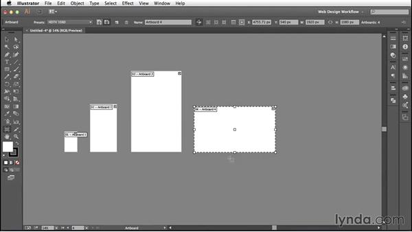 Building a responsive template in Illustrator
