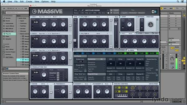 The Oscillator section: Up and Running with MASSIVE