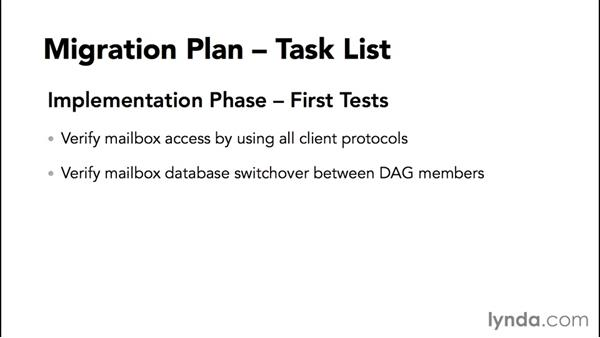 Building a migration-tasks checklist: Migrating from Exchange Server 2010 to 2013