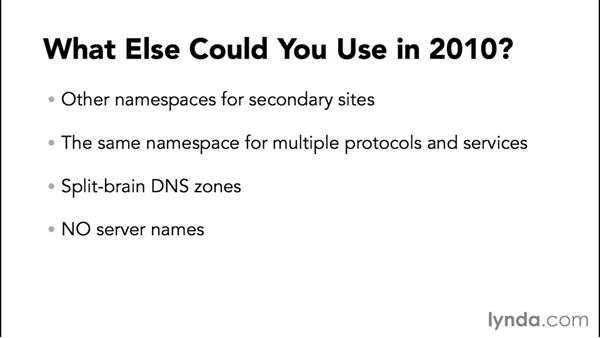 Namespace planning for Exchange Server 2013: Migrating from Exchange Server 2010 to 2013