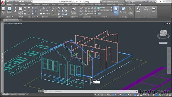 Extruding and shelling solids: 3D Printing a Scale Model with AutoCAD