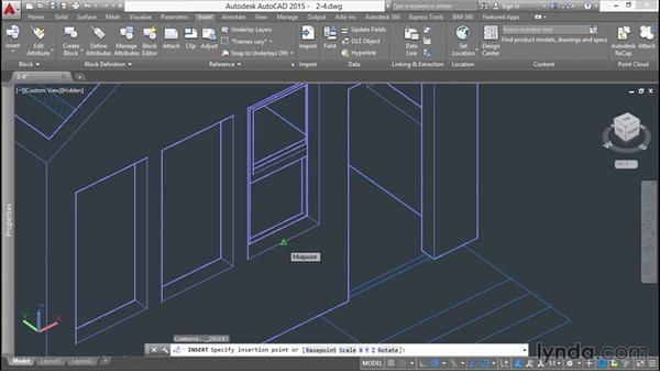 Working with blocks in 3D: 3D Printing a Scale Model with AutoCAD
